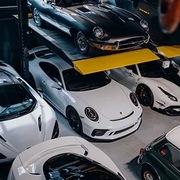 Garage của giới nhà giàu