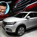 """<p class=""""Normal""""> SUV Roewe RX5, (không phải xe thực tế của Jack Ma). Ảnh: <em>Marcos Brindicci/Reuters; AP Photo/Andy Wong.</em></p> <p class=""""Normal""""> <strong>Jack Ma</strong></p> <p class=""""Normal""""> Là người sáng lập và chủ tịch của Tập đoàn Alibaba - hãng thương mại điện tử lớn nhất Trung Quốc nhưng Jack Ma chỉ lái một chiếc SUV Roewe RX5, có giá từ 15.000 USD.</p>"""