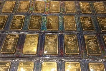 Giá vàng SJC vượt 40 triệu đồng/lượng ở cả chiều mua, bán