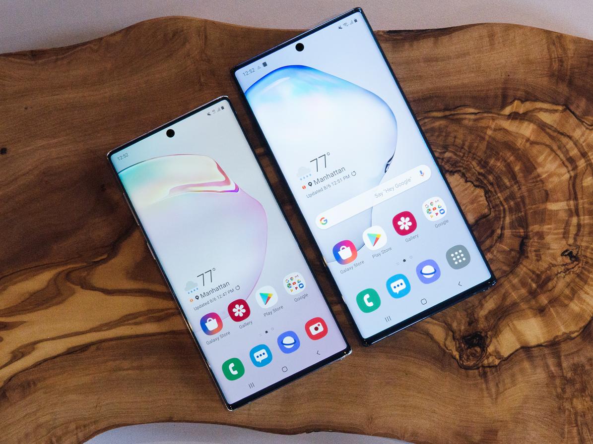 Samsung trình làng Note 10 và Note 10+, giá từ 949 USD