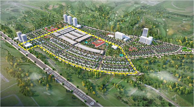 Hodeco nhận giấy phép dự án hơn 27 ha, vốn đầu tư khoảng 977 tỷ đồng