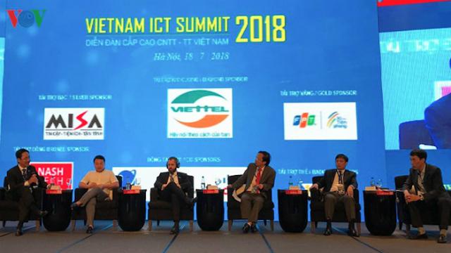 Diễn đànVietnam ICT Summit 2019. Nguồn: VOV