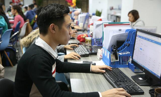 Hoạt động tại Công ty Vay Mượn - một trong nhiều công ty cung cấp dịch vụ P2P tại VN  Ảnh: Ngọc Thắng