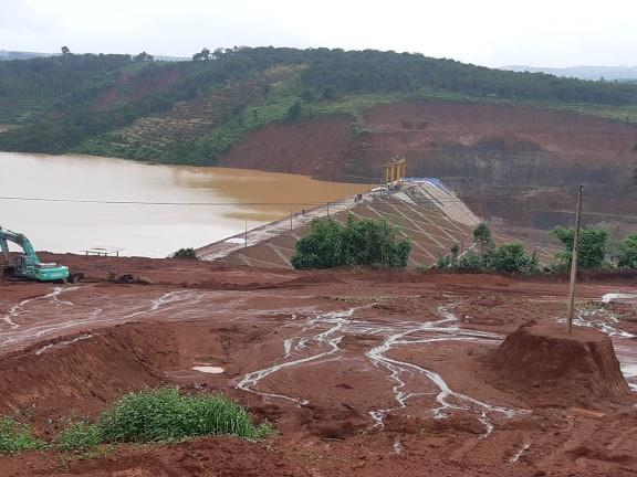 Thêm 1 thủy điện ở Đắk Nông gặp sự cố