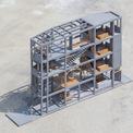 """<p> Ngôi nhà ở quận 7, TP HCM có lối thiết kế khác lạ, được hình thành giữa các<span style=""""color:rgb(28,30,33);line-height:19.32px;"""">khung betong đơn giản. Nhà được xây dựng trên khu đất 64 m2 ở quận 7, TP HCM.</span></p>"""