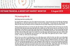 SSI Retail Research: Báo cáo thị trường tài chính tiền tệ Việt Nam tháng 7/2019