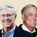 """<p class=""""Normal""""> <strong>3. Koch</strong></p> <p class=""""Normal""""> Tổng tài sản: 124,5 tỷ USD</p> <p class=""""Normal""""> Công ty: Koch Industries</p> <p class=""""Normal""""> Trụ sở: Mỹ</p> <p class=""""Normal""""> Anh em Frederick, Charles, David và William thừa kế công ty lọc dầu của người cha - Fred. Cuộc chiến giành quyền kiểm soát công ty đầu thập niên 80 đã buộc Frederick và William rời bỏ công ty. Charles và David ở lại gây dựng doanh nghiệp thành Koch Industries - một đế chế đa ngành với doanh thu hàng năm hơn 110 tỷ USD. Hai anh em quản lý tài sản của mình thông qua một công ty gia đình - 1888 Management. (<span>Ảnh:</span><em>CNN).</em></p>"""