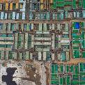 """<p> <span style=""""color:rgb(68,68,68);text-align:justify;"""">Mật độ xây dựng dày đặc của dự ánWyndham Garden Phú Quốc trên bãi Trường thuộc xã Dương Tơ. Theo giới thiệu của chủ đầu tư, dự án có tổng cộng 153 căn hộ và 25 lô phố thương mại mặt tiền 36 m với tổng diện tích 74.727 m2.</span></p>"""