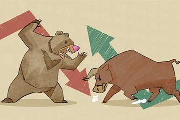 Cổ phiếu 'nóng' đồng loạt lao dốc, VN-Index giảm hơn 8 điểm