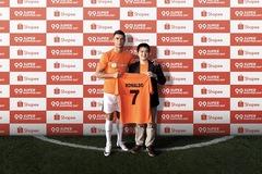 Cristiano Ronaldo trở thành đại sứ thương hiệu của Shopee