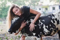 Dịch vụ cho vuốt ve bò giá 75 USD mỗi giờ ở Mỹ