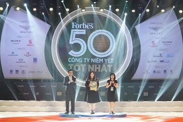 Vietjet ghi 'hattrick' với danh sách 50 công ty niêm yết tốt nhất Việt Nam của Forbes