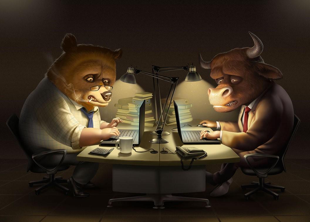 Nhiều cổ phiếu lớn giảm sâu, nhóm ngân hàng và chứng khoán giữ nhịp thị trường