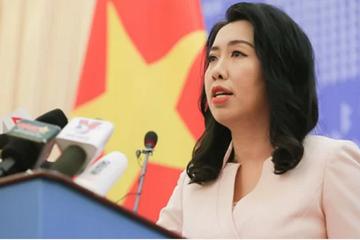 Việt Nam phản đối tàu khảo sát Trung Quốc tiếp tục xâm phạm vùng biển