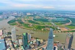 Nghiên cứu kiến trúc cầu đi bộ vượt sông Sài Gòn nối quận 1 và Thủ Thiêm