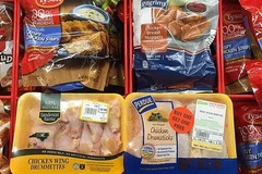 Gần 60.000 tấn đùi gà Mỹ về Việt Nam giá 17.600 đồng một kg