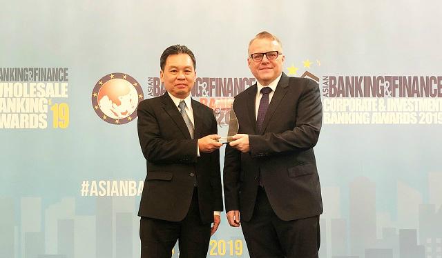HDBank nhận giải thưởng Ngân hàng bán lẻ nội địa tốt nhất năm 2019