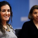 <p> Năm 2009, Jennifer Hyman và Jennifer Fleiss thành lập Rent the Runway – công ty cho thuê trang phục thiết kế. Hiện nay hãng này có giá trị một tỷ USD. (Ảnh: <em>Shannon Stapleton/Getty</em>)</p>