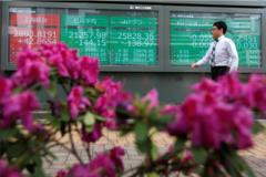 Chứng khoán châu Á tăng, kỳ vọng vào phát biểu của chủ tịch Fed