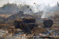 Brazil triển khai quân đội ứng phó thảm họa cháy rừng Amazon