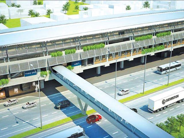 Ngã rẽ mới của Dự án metro số 1 Hà Nội