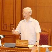 Tổng Bí thư, Chủ tịch nước chủ trì họp Tiểu ban Nhân sự Đại hội XIII