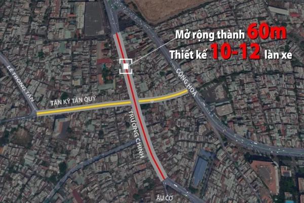 Dự án gần 2.900 tỷ mở rộng đường cửa ngõ Tây Nam Sài Gòn