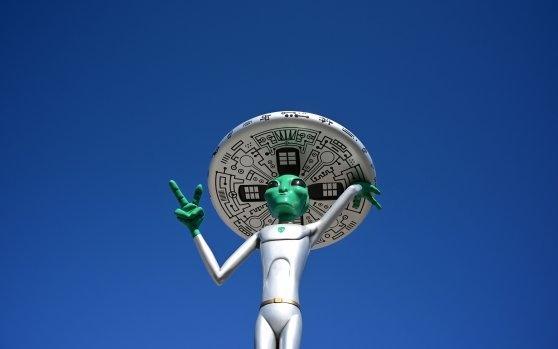 Thị trấn Mỹ chuẩn bị cho cuộc săn lùng người ngoài hành tinh