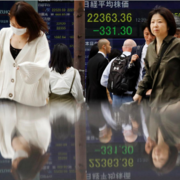Giới đầu tư bán tháo, các thị trường chứng khoán lớn tại châu Á mất 1 - 2%