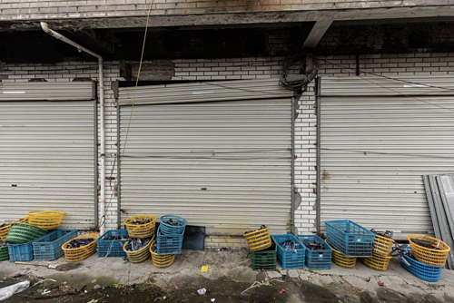 Nhà xưởng Trung Quốc bị bỏ không vì chiến tranh thương mại