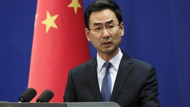 Người phát ngôn Bộ Ngoại giao Trung Quốc Geng Shuang. Ảnh: Hindustan Times.