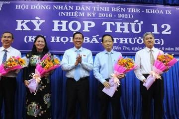 UBND tỉnh Bến Tre có 2 phó chủ tịch mới