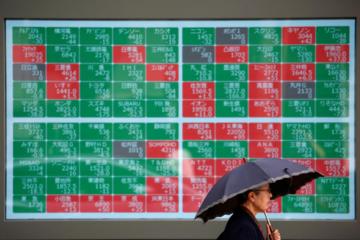 Chứng khoán châu Á trái chiều khi đường cong lợi suất trái phiếu Mỹ ở thế 'ngược'