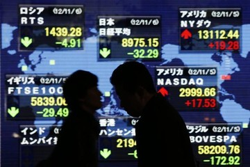 Đường cong lợi suất trái phiếu Mỹ vẫn đảo ngược, chứng khoán châu Á trái chiều