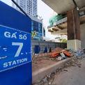 <p> Tiến độ xây dựng các nhà ga hiện đạt hơn 61%.</p>