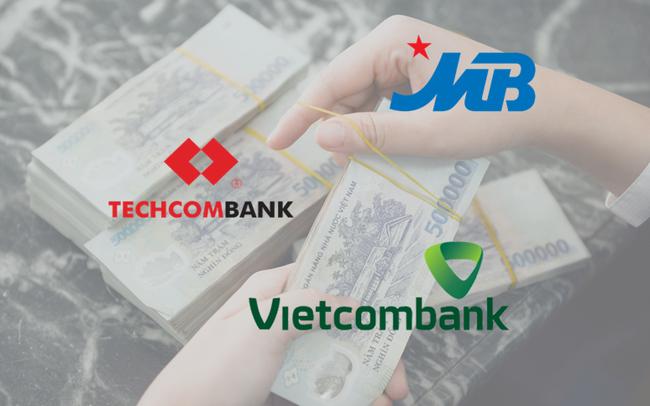 So săng 3 ngân hàng có tỷ lệ CASA cao nhất: Vietcombank, Techcombank, MBBank