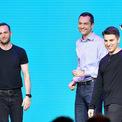 <p> Theo <em>Forbes</em>, Brian Chesky và 2 nhà đồng sáng lập khác của Airbnb là Joe Gebbia (trái), và Nathan Blecharczyk (giữa) đều là những tỷ phú USD với khối tài sản trị giá 4,2 tỷ USD mỗi người. Ảnh: <em>Getty</em>.</p>