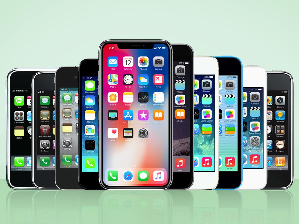 Nhìn lại các thế hệ iPhone trước thời điểm iPhone 11 trình làng