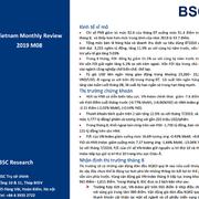 BSC: Báo cáo vĩ mô và thị trường tháng 8/2019 - 'Trước tâm bão chiến tranh thương mại'