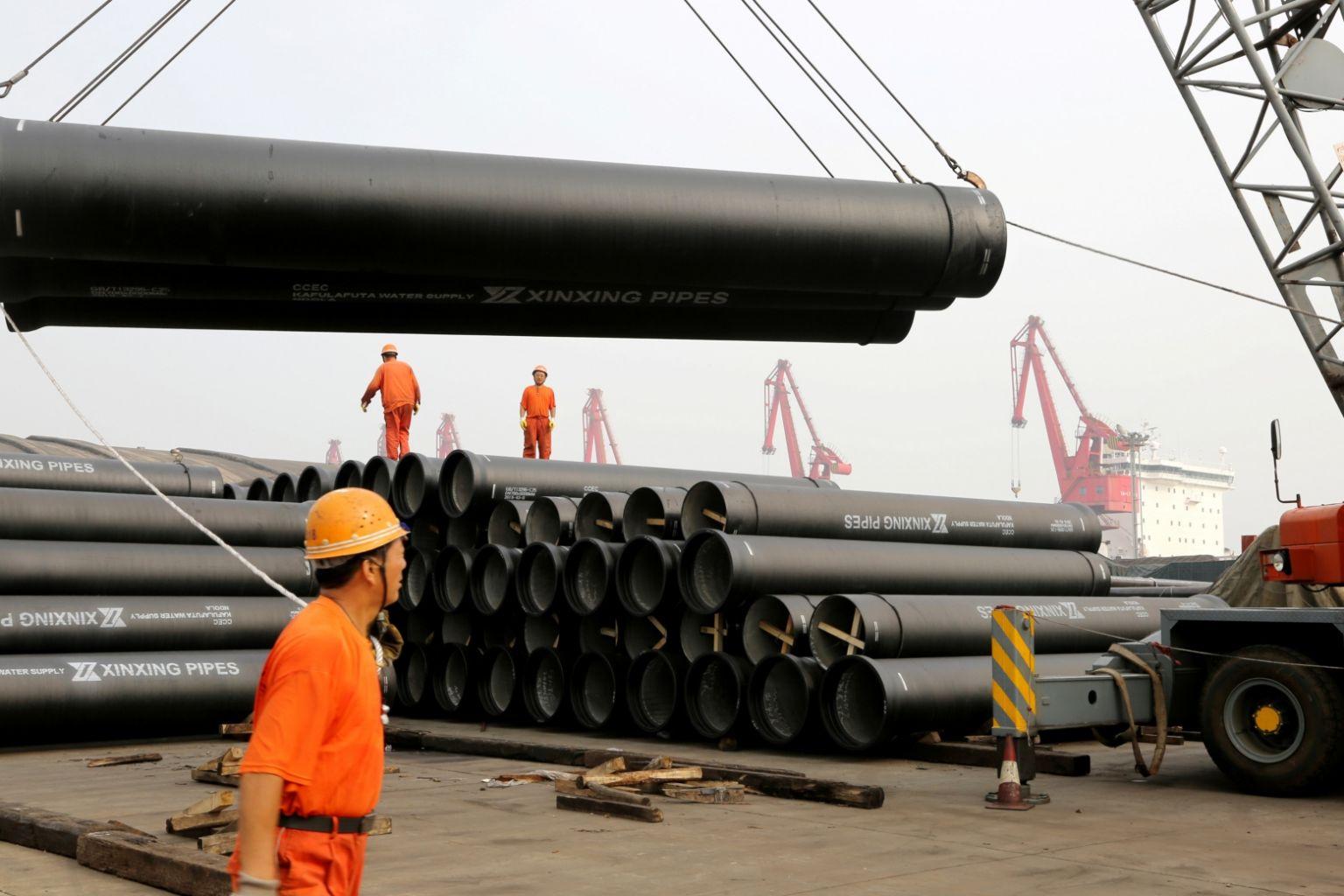 Mỹ áp thuế 141% lên thép của Trung Quốc