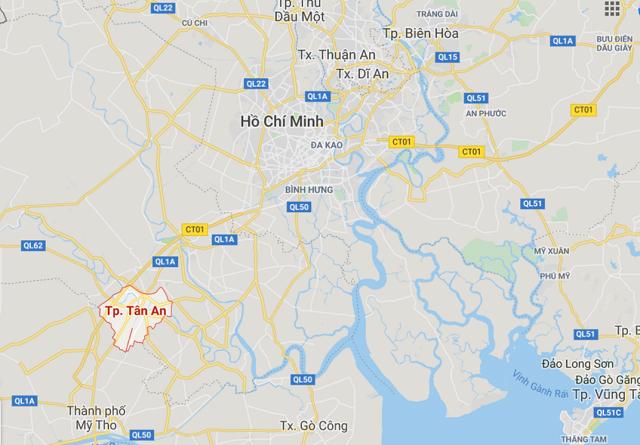 Thành phố Tân An đạt đô thị loại II thuộc tỉnh Long An