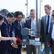Khánh thành nhà máy nước sinh hoạt lớn nhất miền Bắc