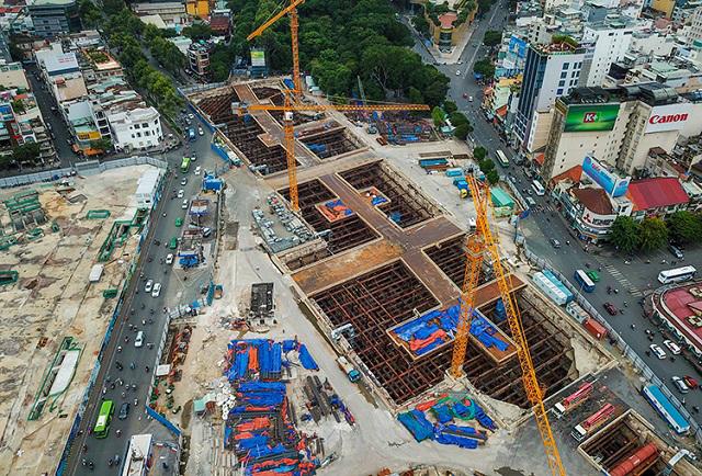 TP HCM sắp xây trung tâm thương mại ngầm
