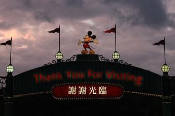 Disneyland Hong Kong 'vắng như chùa bà Đanh' vì bất ổn chính trị
