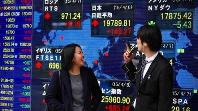 Chứng khoán châu Á lên cao nhất 6 tuần nhờ ECB hạ lãi suất