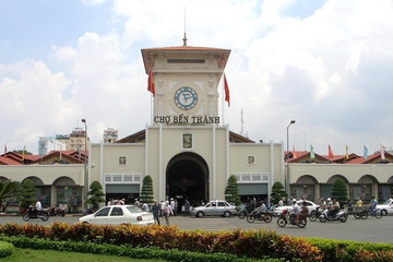 TP HCM muốn tổ chức chợ đêm trong lòng chợ Bến Thành