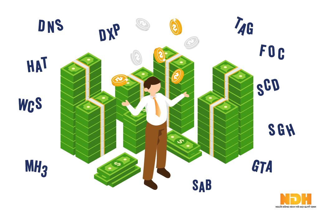 Những doanh nghiệp 'tiền nhiều không biết để làm gì' trên thị trường chứng khoán