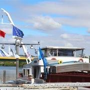 Khánh thành tuyến vận tải thủy từ nội địa Pháp đến Việt Nam