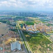 Thủ Thiêm còn lại 79 ha đất giá trị gần 22.000 tỷ đồng