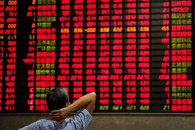 Chứng khoán Trung Quốc giảm 1 -2%, châu Á thận trọng trước thềm họp Fed